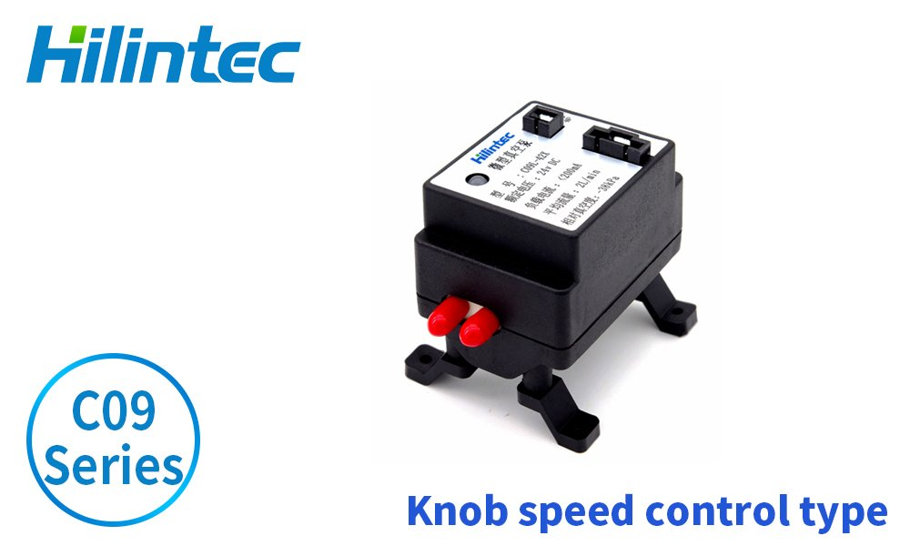 C09 Series Knob Speed Control Diaphragm Mini Vacuum Pump